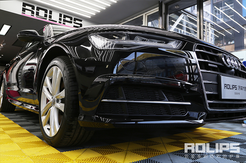 不一样的质感-奥迪A6L极致施工罗利普斯隐形车衣ROLIPS-90