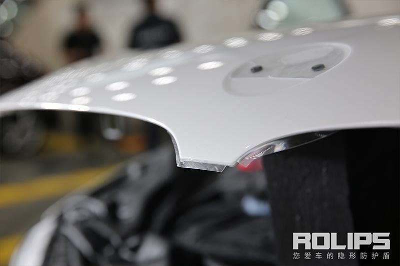 宝马5系隐形车衣,罗利普斯拥有最极致的保护