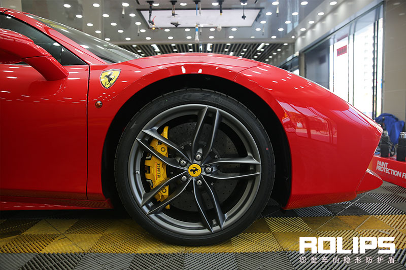 罗利普斯RS100【施工车型】法拉利