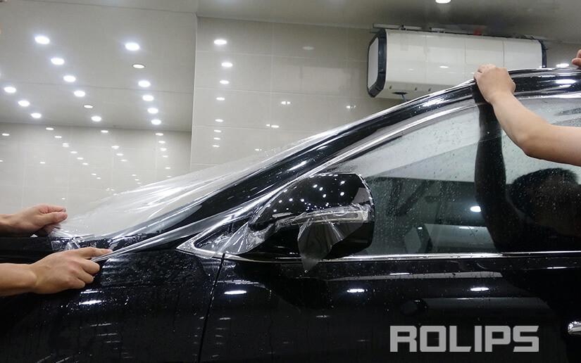 ROLIPS漆面保护膜施工案例-现代格越专业汽车贴膜