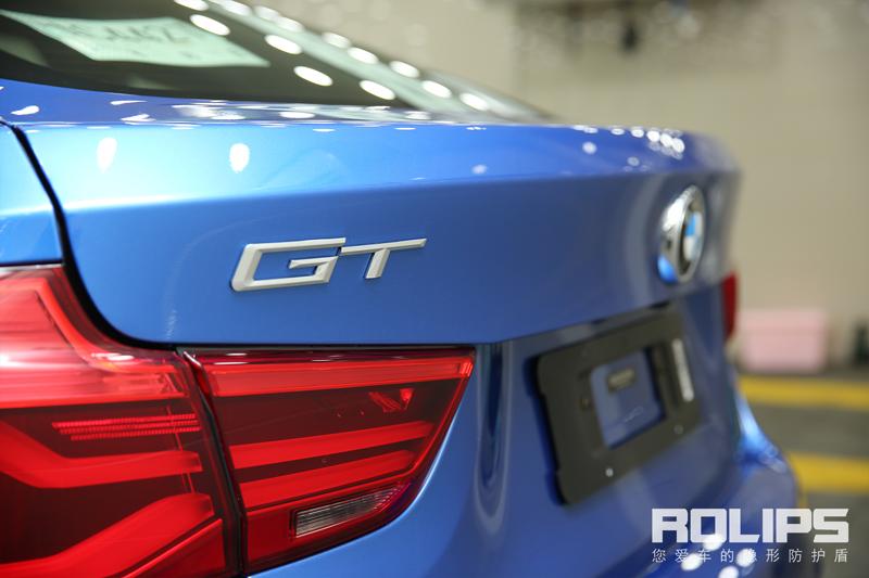 宝马3系GT vs 罗利普斯RS-90 隐形车衣案例