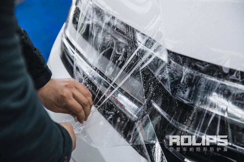 白色本田艾力绅极致施工罗利普斯隐形车衣RS-90亮度与质感共提升