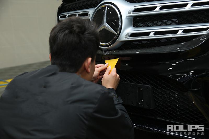 这是哪家店?为什么隐形车衣施工一辆接着一辆-奔驰GLS