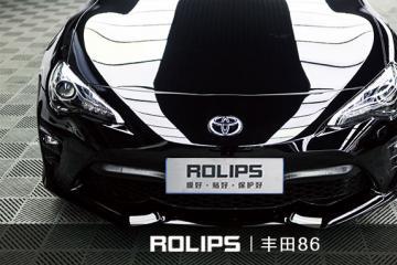 千里之行,丰田86·石英黑 施工罗利普斯ROLIPS隐形车衣