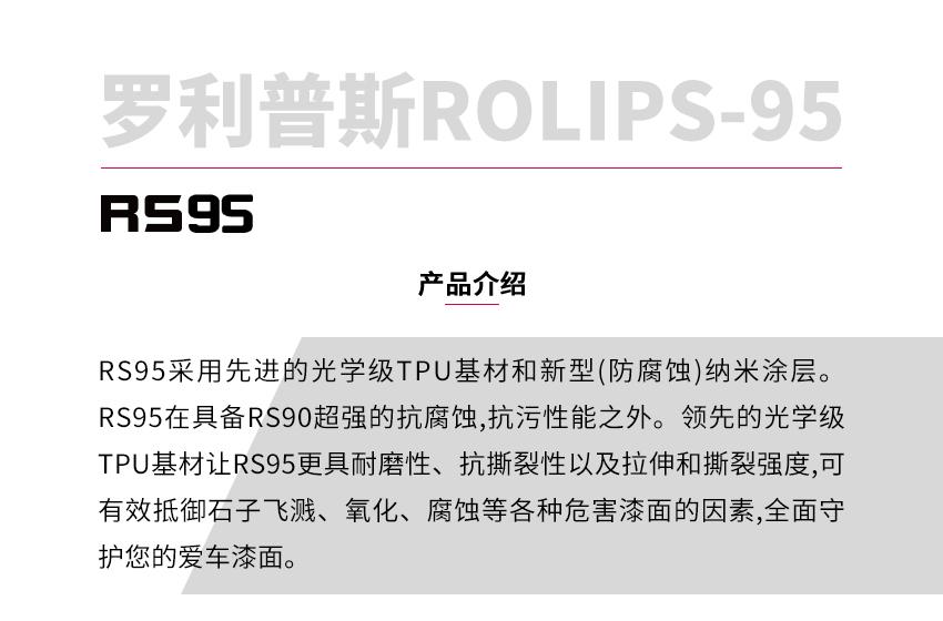 罗利普斯RS95隐形车衣